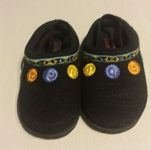 US Polo Assn Girls Black Clogs